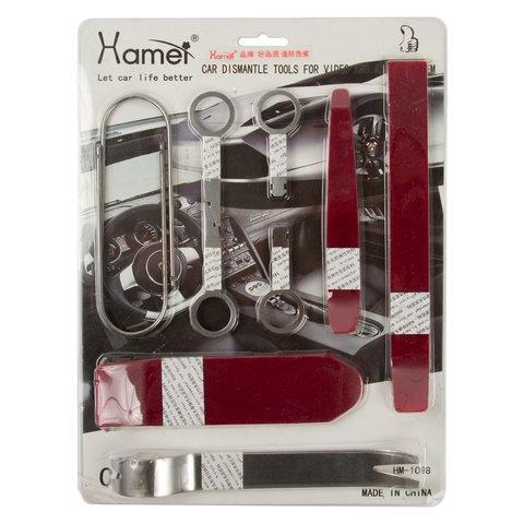 Набор инструментов для снятия обшивки (10 предметов, полиуретан/сталь) Превью 1