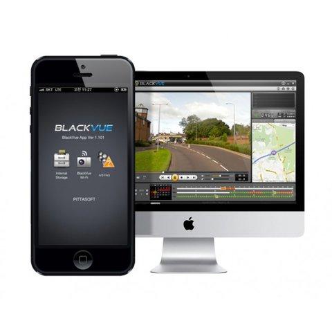 Видеорегистратор с GPS и G-датчиком BlackVue DR380G-HD Превью 3