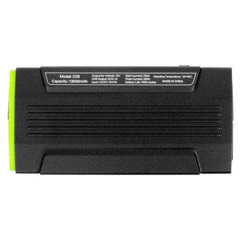 Пускозарядное устройство для автомобильного аккумулятора Jump Starter D28 Превью 3