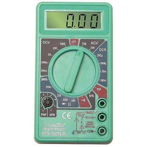Професійний мультиметр Pro'sKit 903-150N-B Прев'ю 1