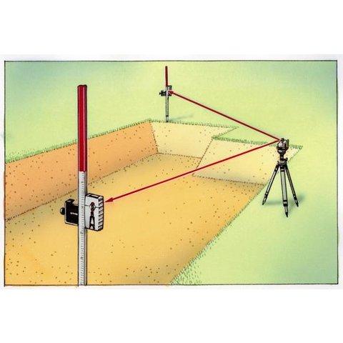 Нівелірна рейка Laserliner Flexi-Messlatte 2 m Прев'ю 3