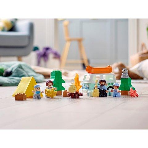 Конструктор LEGO DUPLO Семейное приключение на микроавтобусе 10946 Превью 13