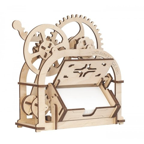 Mechanical 3D Puzzle UGEARS Business Card Holder Preview 2